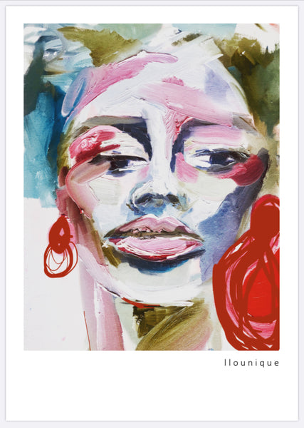 'Unmasked' Series B Print 4 - Collectors Fine Art Print