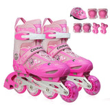Rollerblade Kids Front Wheel Flash Adjustable Inline Skates