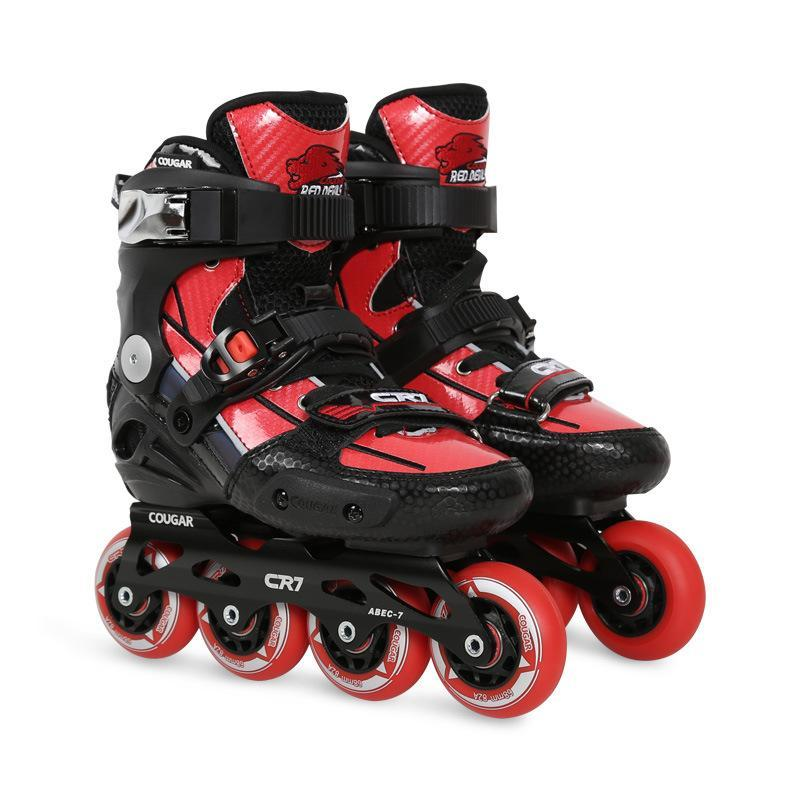 Children's Professional Fancy Flat Rolllor Blades Inline Skates Kid