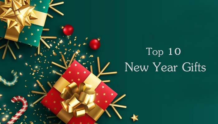 10 Best Gift Ideas for Happy New Year 2021