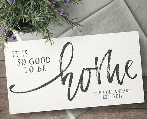 Personalized Home Decor Gift