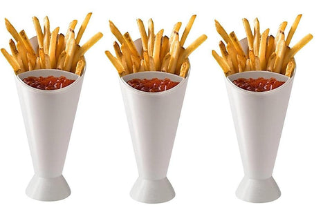 Set of 2 french fries stands