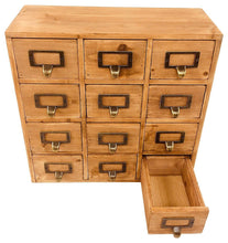 Load image into Gallery viewer, Storage unit with 12 drawers (35 x 15 x 34cm)