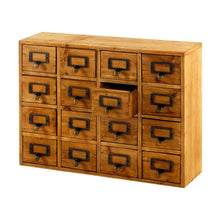 Load image into Gallery viewer, 16 drawers storage unit, trinket drawers (35 x 15 x 46.5cm)