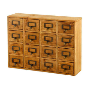 16 drawers storage unit, trinket drawers (35 x 15 x 46.5cm)