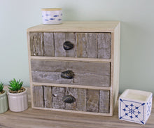Load image into Gallery viewer, Buy Online 3 drawer unit driftwood
