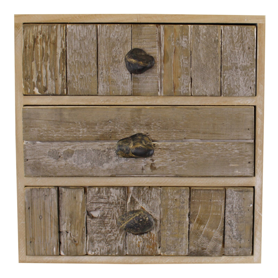 drawers with pebble handles