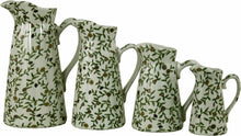 Load image into Gallery viewer, Set of 4 ceramic jugs