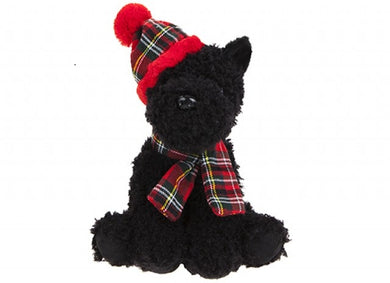 Black West Highland Terrier Plush Toy