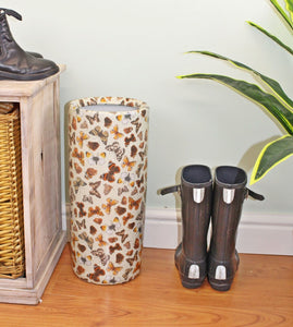 Umbrella stand butterfly design