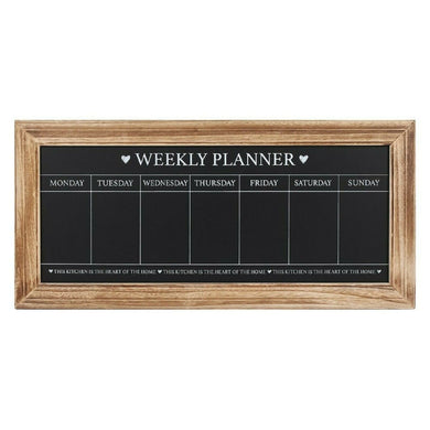 Weekly planner blackboard large board IN UK