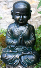 Load image into Gallery viewer, Buy Stone effect child Buddha statue