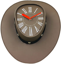 Load image into Gallery viewer, cowboys-hat-clock