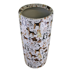 Umbrella stand, dog design