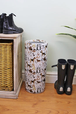 Umbrella stand dog design