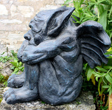 Load image into Gallery viewer, large stone gargoyles for sale