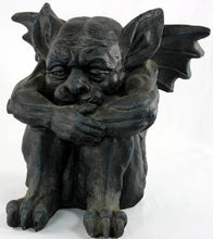 Load image into Gallery viewer, Stone effect large Gargoyle statue