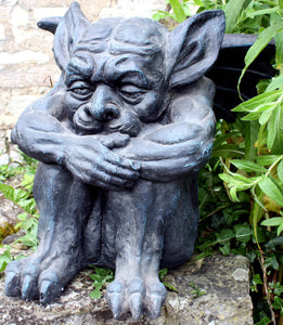 Buy Stone effect large Gargoyle statue