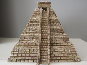 Aztec pyramid backflow incense cone