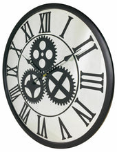 Load image into Gallery viewer, Mirrored mechanism clock 56cm