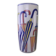 Load image into Gallery viewer, Umbrella stand, striped umbrellas design
