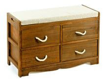 Load image into Gallery viewer, Buy 4 Drawer Storage Bench In UK