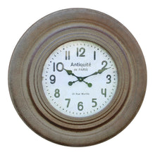 Load image into Gallery viewer, Rustic clock 75cm