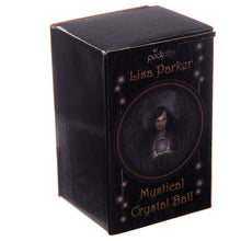 Load image into Gallery viewer, Crystal ball with glass stand and a gift box 5 cm