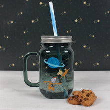 Load image into Gallery viewer, SPACE ADVENTURE DRINKING JAR