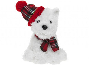 Buy White Highland Terrier Plush Toy