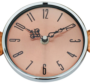 Buy Copper winged wall clock