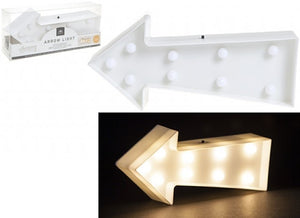 White arrow led light