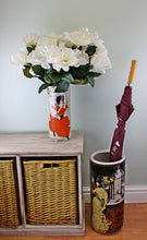 Load image into Gallery viewer, Umbrella stand, caffe espresso design with free vase