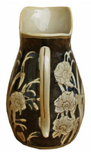 Load image into Gallery viewer, Ceramic embossed jug style vase regal design