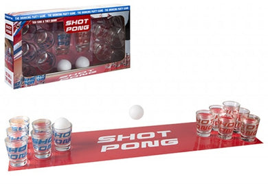 The rules to playing Shot Pong