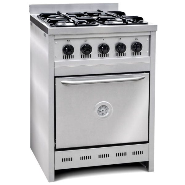 Cocina Industrial 4 Hornallas 55 Cm Cook And Food CF550
