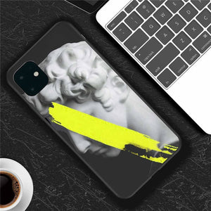 Abstract Art Silicone Case