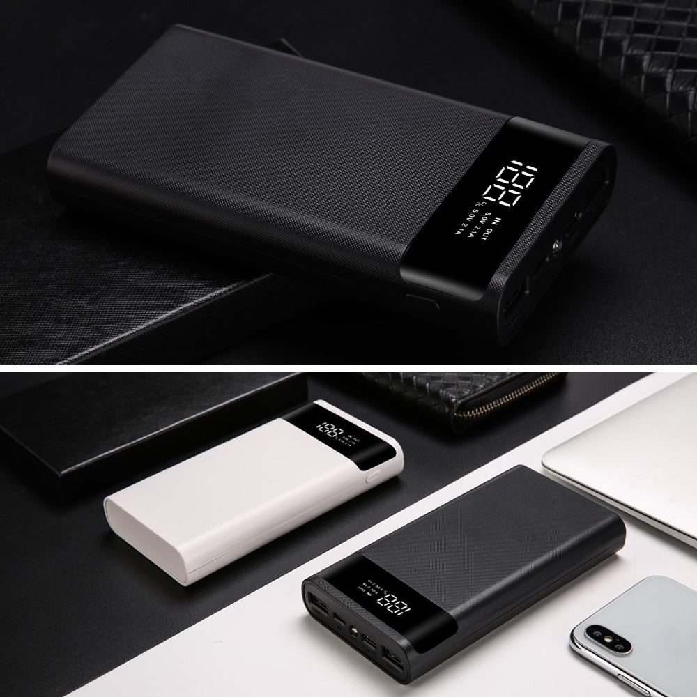 Power Bank Shell 5V DIY 6*18650 Without Battery