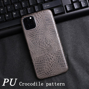 Solid Color PU Leather Case