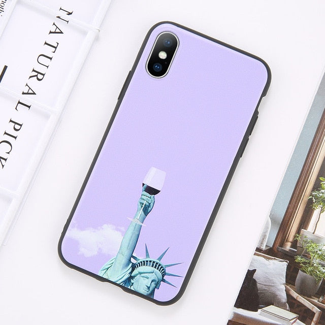 Abstract Art Soft TPU Shell Case
