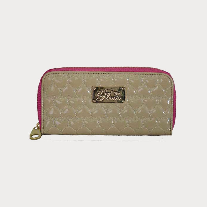 Tan Quilted Purse