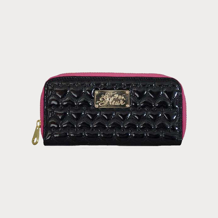 Purple Quilted Purse