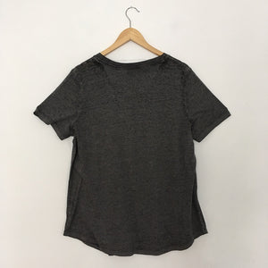 Grey T shirt with Front Pocket