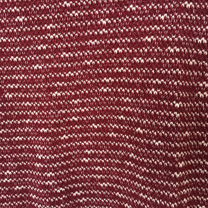 Maroon Scoop Neck Knitted Top