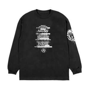 """Redacted"" Long Sleeve"