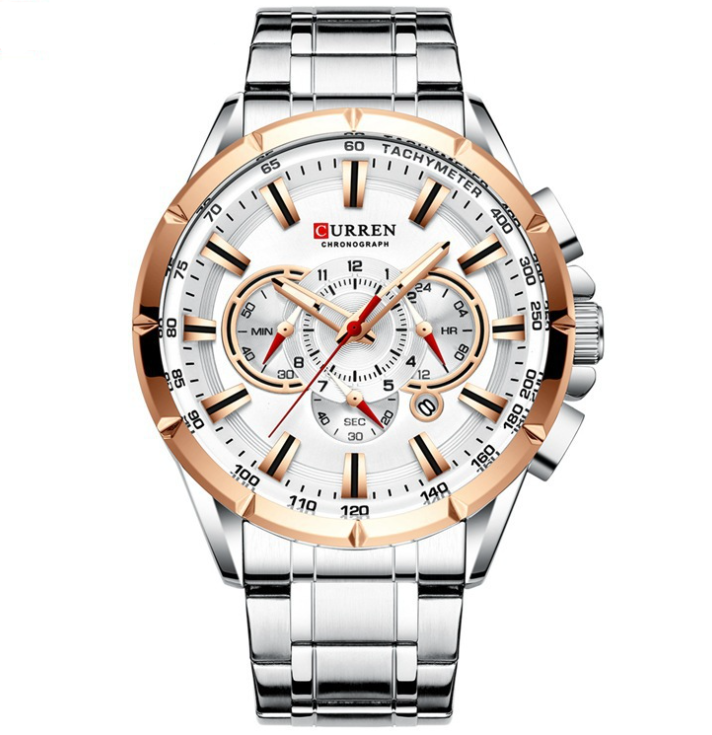 Mens Steel Band Quality Watch