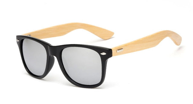 Bamboo Mirror Sunglasses For Men & Women