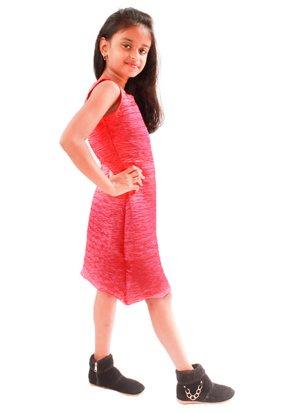 Stretchable Red Midi