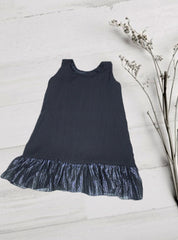 Black Frock with Silver Lining