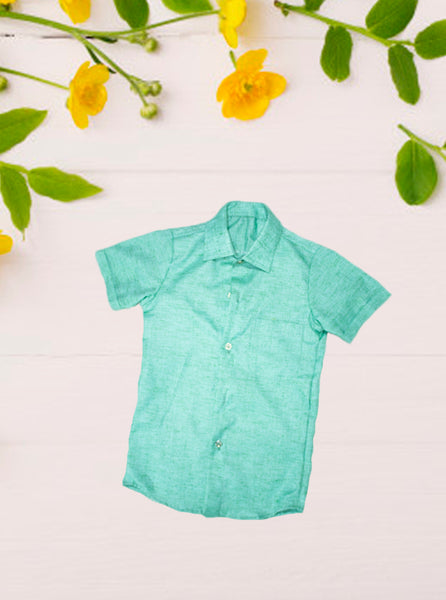Light Green Shirt for Boy